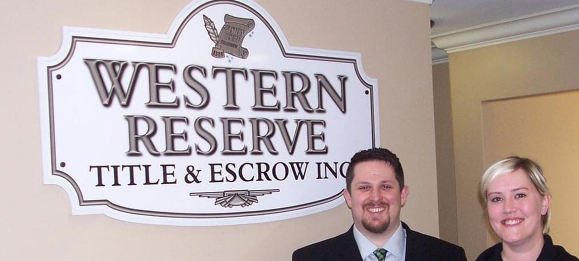 Western Reserve Title & Escrow, Inc.
